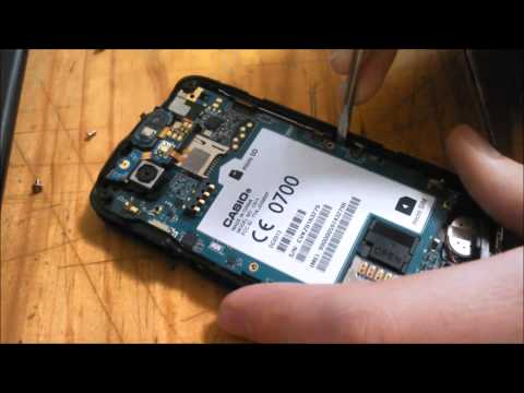 Casio Commando 2 (C811) Take Apart Guide