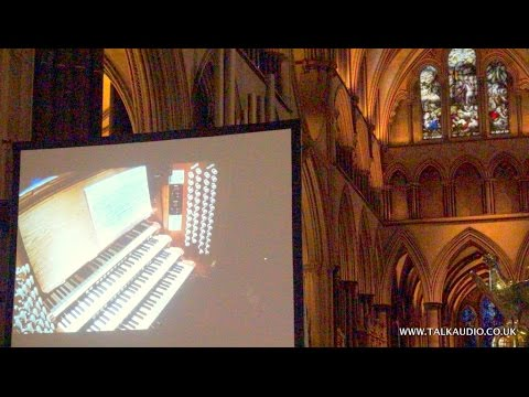 Salisbury Cathedral Organ,  played by David Dunnett