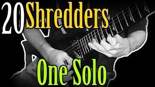 20 Shredders In One Solo!