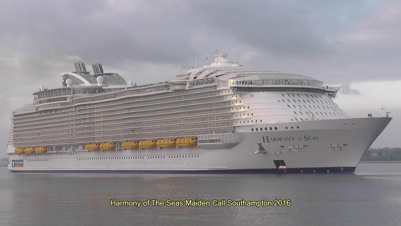 Royal Caribbean Cruise Ships In Southampton 2006 To 2020