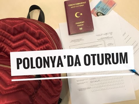 Polonya'da OTURUM - POLAND RESIDENCE - POLSKA KARTA POBYTU