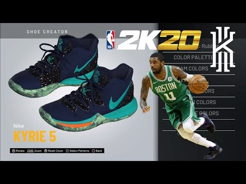 nike-kyrie-5-ufo-|-nba2k20-sneaker-creator