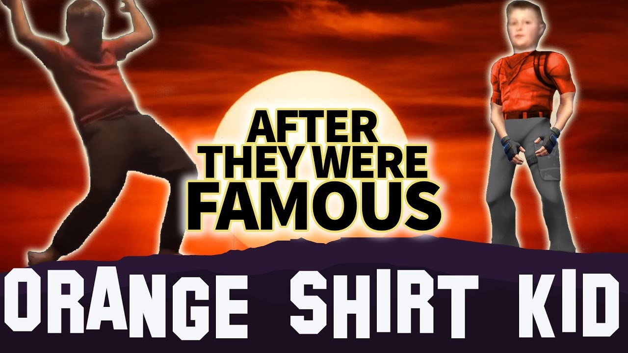 c9087fa1 ORANGE SHIRT KID | AFTER They Were Famous | #Boogiedown Challenge Fortnite