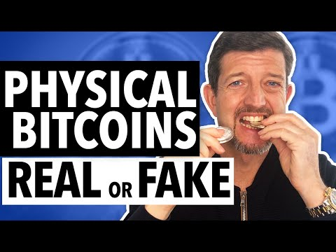 Are ALL Physical BitCoins On The Market FAKE?!