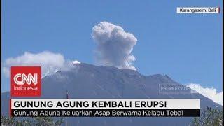 Download Video Gunung Agung Keluarkan Asap Berwarna Kelabu Tebal - Erupsi Gunung Agung MP3 3GP MP4