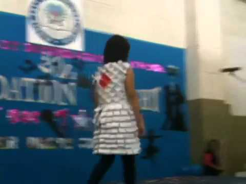 MIS Qatar Paper Dress Contest 2011
