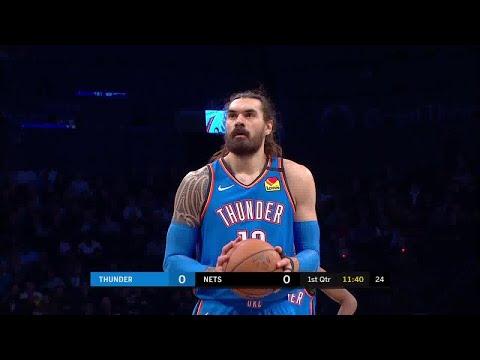 Steven Adams Full Play vs Brooklyn Nets | 01/07/20 | Smart Highlights