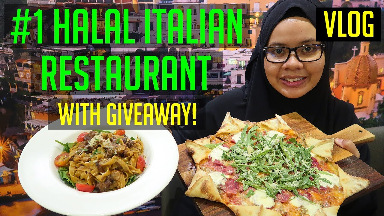 No 1 Halal Italian Restaurant On Tripadvisor Singapore Halal Food Youtube