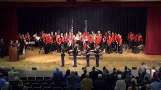2017 Hart County High School Veterans Day Ceremony