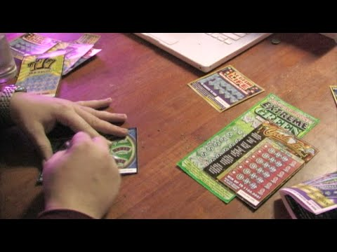 A Whole Bunch Of Lotto Scratcher Tickets - Playing The California Lottery!