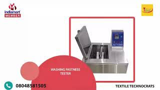 TEXTILE TESTING AND DYING EQUIPMENTS Manufacturer