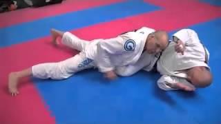Open Guard Leg Weave Pass