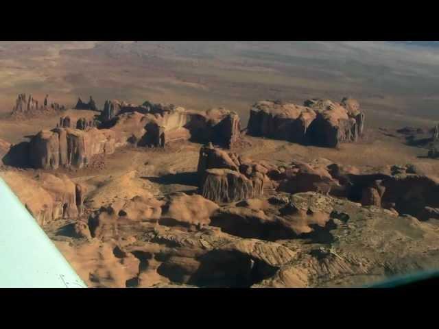 Flying Monument Valley - N650B