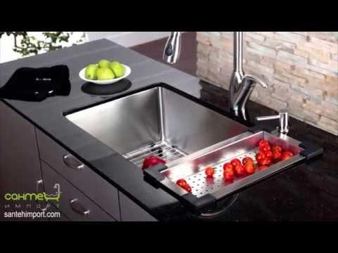 Кухонные мойки из нержавеющей стали и аксессуары для кухни Kraus (www.santehimport.com)