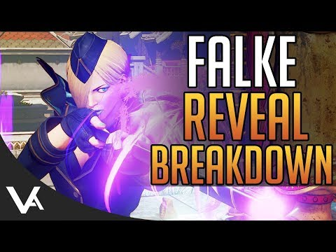 SFV - Falke Gameplay Reveal Impressions! Trailer Breakdown For Street Fighter 5 Arcade Edition