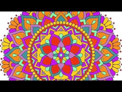 ColoRelax Mandala coloring book 2018 screenshot