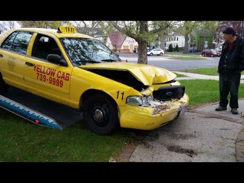 Yellow Cab Crash Test