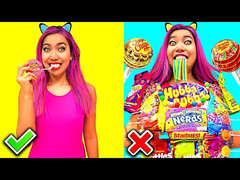Candy Shirt! Clever Food Hacks Everyone Should Know!!! (CC Available)