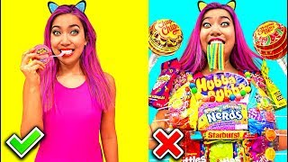 Candy Shirt! Clever Food Hacks Everyone Should Know!!! (CC Available) thumbnail