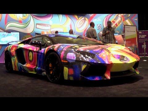 Lamborghini Aventador Roadster Art Supercar By Duaiv Lamborghini