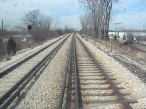 """CTA Skokie Swift / Yellow Line Ride in the """"Railfan Seat"""""""