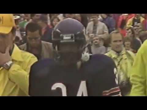 Walter Payton breaks Jim Brown