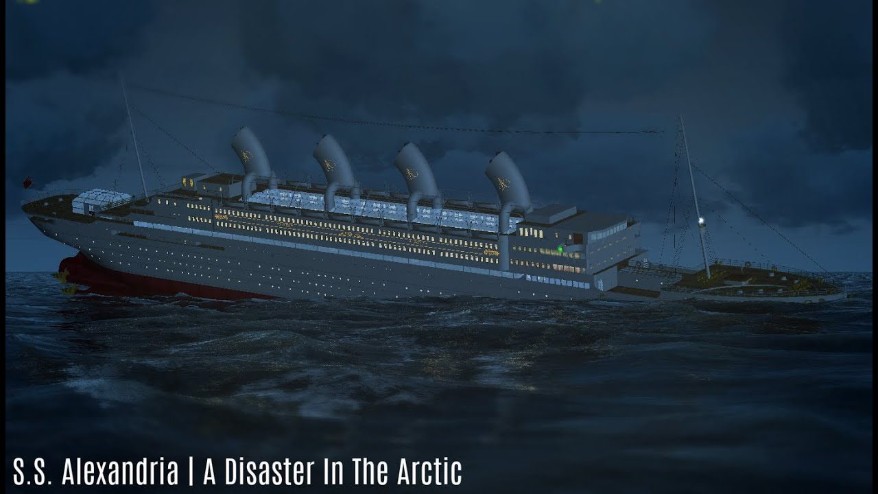 S S Alexandria A Disaster In The Arctic Youtube
