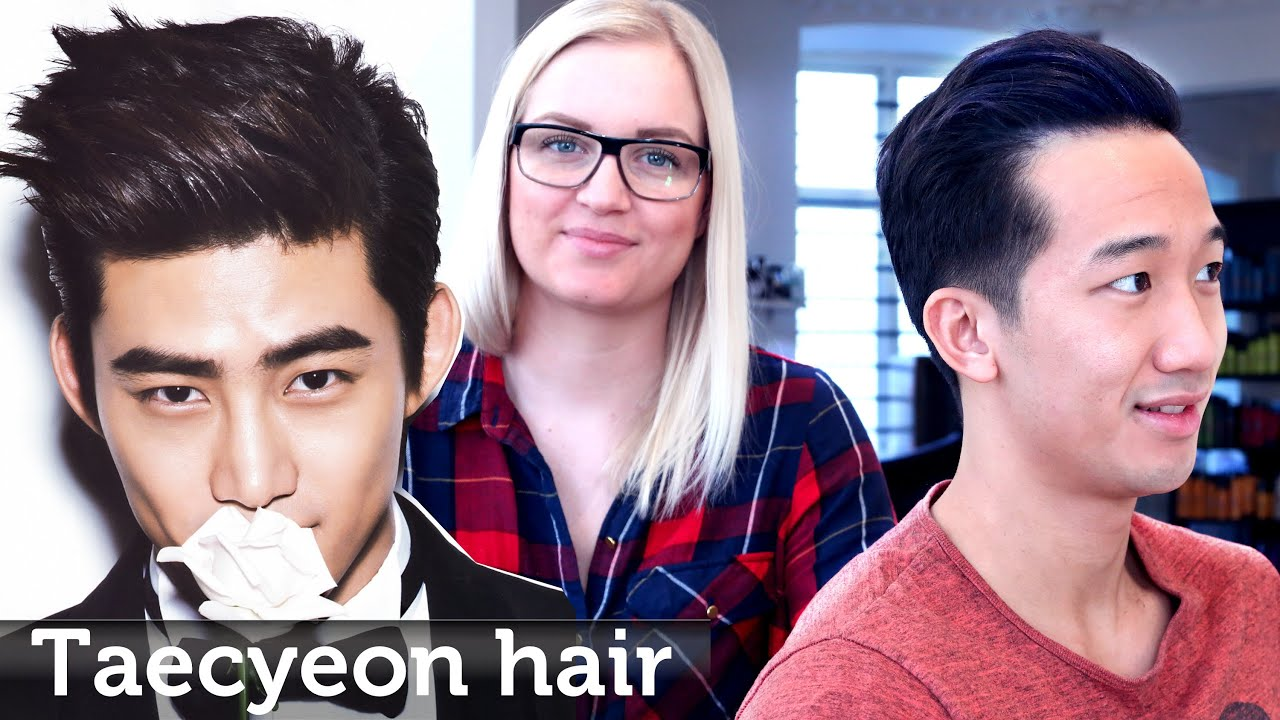 Asian Hair like Taecyeon ☆ Professional hair styling video for men