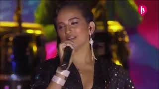 Daniela Darcourt en el festival HEAT Latin Music Awards 2018  HTV