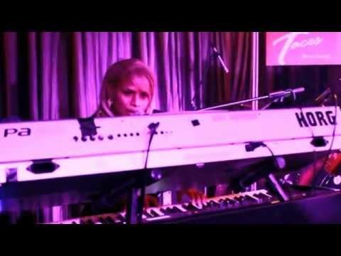 Zandra performing at FACES Music Lounge, Hong Kong