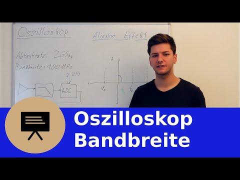 0x02 Oszilloskop - Bandbreite und Abtastrate (Abtasttheorem, Aliasing)