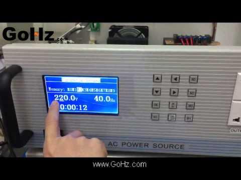 50Hz 60Hz Converter, 110v, 120v, 220v, 230v, 240v