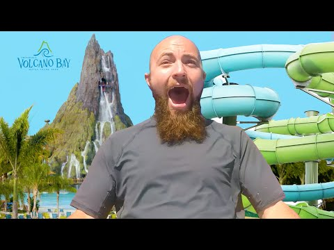Adults Face Their Fear of Heights On A 125-foot Water Slide // Presented By BuzzFeed & Volcano Bay