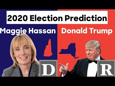 2020 Election Prediction | Maggie Hassan vs Donald Trump