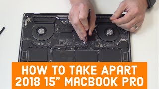 How to Take Apart the 2018 15 Macbook Pro A1990