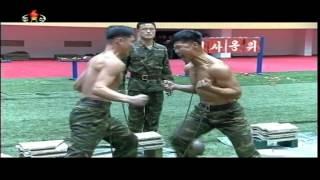 Показові виступи корейського спецназу / Videos taekwondo / Корейское тхэквондо безумного спецназа(Дуже видовищні показові виступи з таеквондо у виконанні корейського спецназу можна переглянути у відео..., 2015-04-20T19:40:23.000Z)