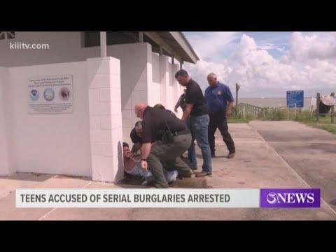 Six Teenagers Accused Of Serial Burglaries Arrested