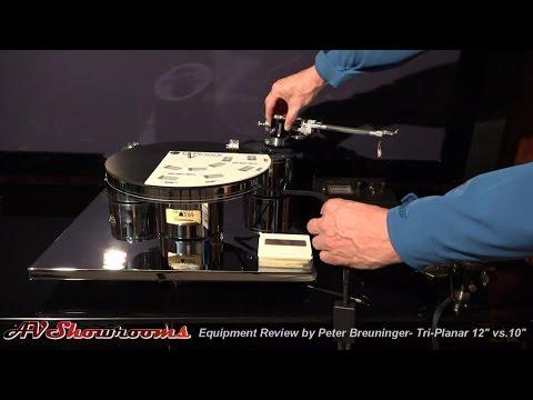 "Tri-Planar Tonearm Review, 12"" vs. 10"", Pt. 1 by Peter Breuninger, AVShowrooms"
