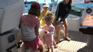 World Cruising - Stray Kitty - Catamaran sailing.