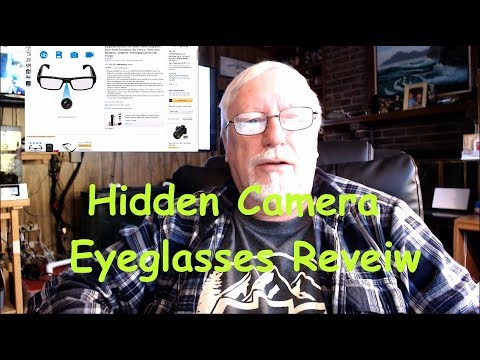 Hidden Camera Eyeglasses Reveiw from YouTube · Duration:  15 minutes 21 seconds