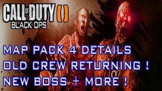 Black Ops 2 Zombies Map Pack 4 Apocalypse Origins Storyline + Old Crew Returning