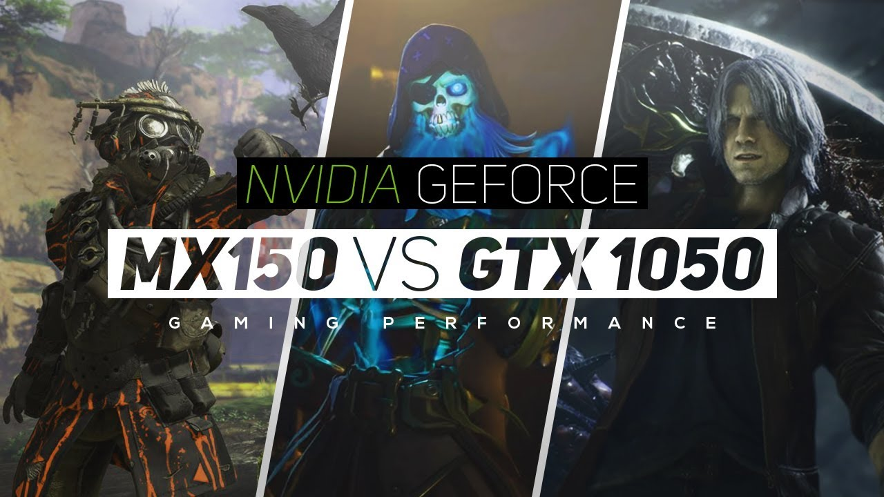 NVIDIA Geforce MX150 VS NVIDIA Geforce GTX 1050 2019!