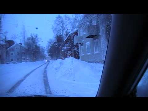 winter in Umeå, Sweden