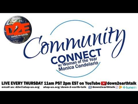 Community Connect with Monica Candelario  D2E (Season 1- Episode 10-)
