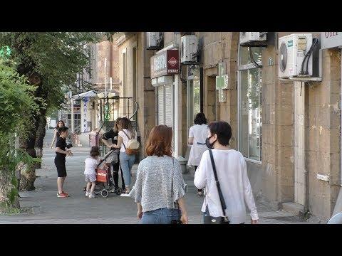 Ереван, 31.05.20, Su, ул.Киевян, уютный двор, день 74-ый, Video-1.