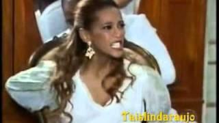 Ellen ( Taís Araújo) é amarrada e castigada pela familia de Foguinho- Cobras e Lagartos