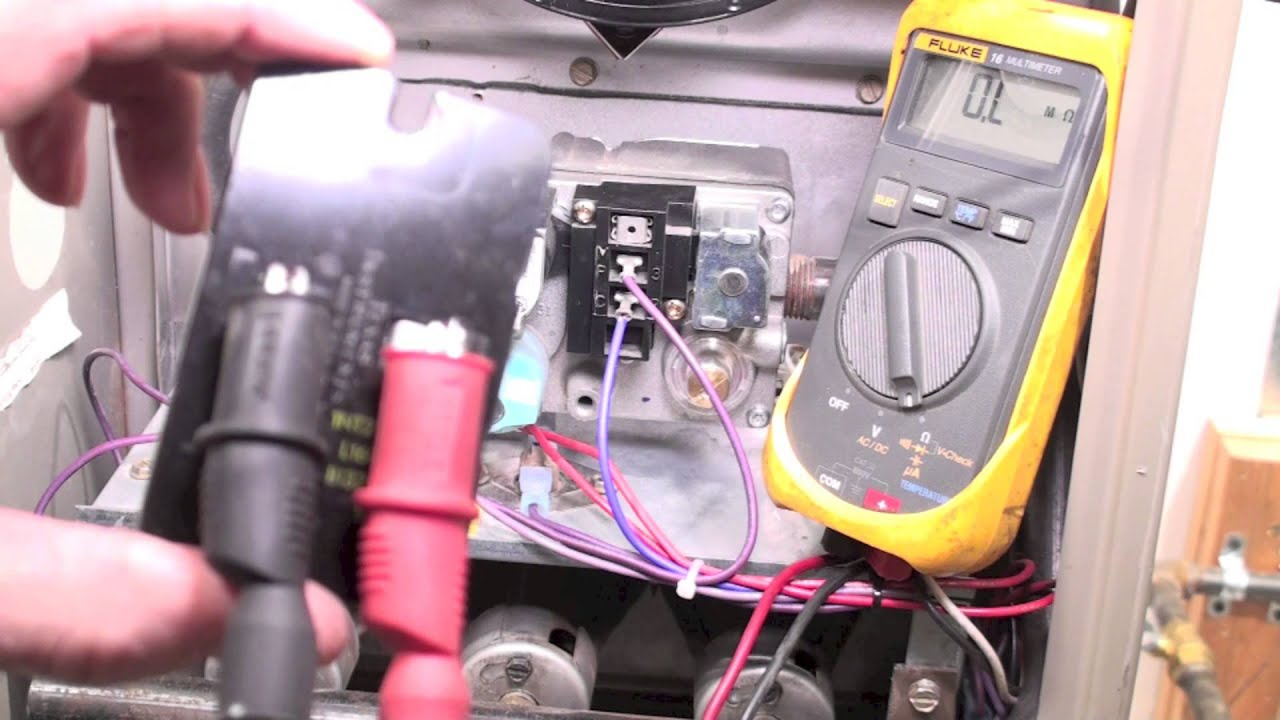 Troubleshooting the limit switch on the 80% AFUE gas