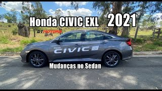 Honda Civic EXL 2021 - DTMotors #213