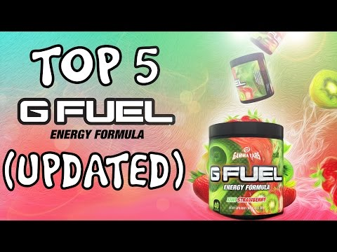 NEW!! - TOP 5 BEST G-FUEL FLAVORS! - WHAT SHOULD YOU BUY???