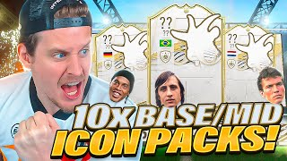 ICON SWAPS OP! 10X GUARANTEED BASE OR MID ICON PACKS! FIFA 21 Ultimate Team